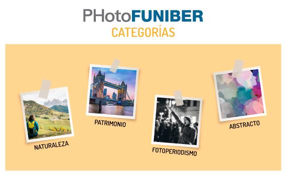 Descubra las categorías de participación del Concurso Internacional de Fotografía PHotoFUNIBER'21